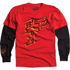 Fox Boys Pinpoint 2Fer L/S Tee