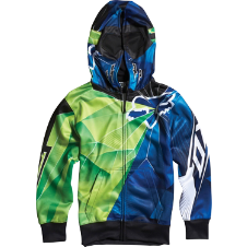 Fox Boys Radeon Full Zip Front Hoody