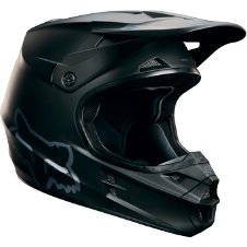 Fox Youth V1 Matte Black Helmet