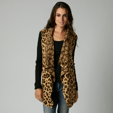 Fox Wildcat Cardigan Sweater