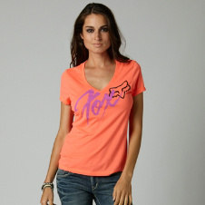Fox Intense Vneck Tee
