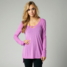 Fox Tailtap Long Sleeve Tunic