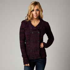 Fox Desert Rider Cardigan Sweater