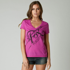 Fox Splinter Vneck Tee
