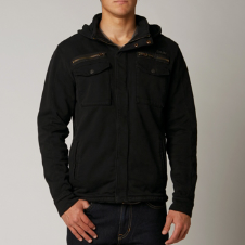 Fox Deluxe Splinter Zip Front Hoody