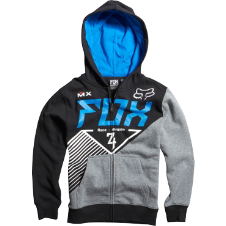 Fox Boys Eracer Zip Front Hoody