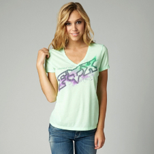 Fox Dusty Vneck Tee