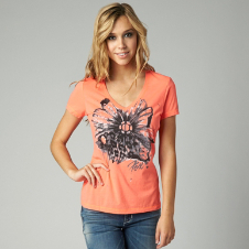 Fox Crossfire Vneck Tee