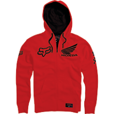 Fox Honda Standard Zip Fleece Hoody
