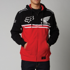 Fox Honda Race Zip Front Hoody