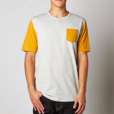 Fox Blockt s/s Knit Tee
