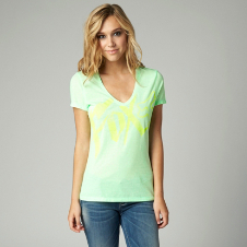 Fox Stealth Vneck Tee