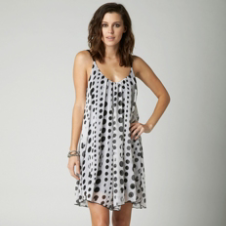 Fox White Light Dress