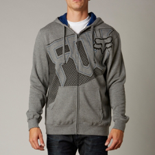 Fox Full Force Zip Front Hoody