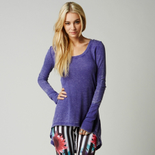Fox Runaway Long Sleeve Tunic
