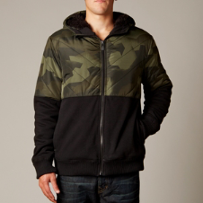 Fox Crockett Sasquatch Zip Front Hoody