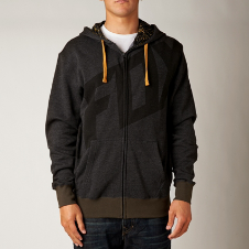 Fox Tainted Zip Front Hoody