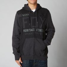 Fox Blockade Zip Front Hoody