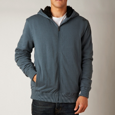 ROAM SASQUATCH ZIP FLEECE [HTR WHT]
