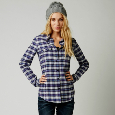 Fox Word Up Flannel