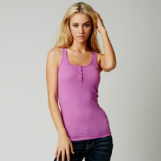 Fox Miss Clean Henley Tank