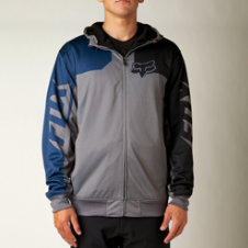 Fox Race Zip Front Hoody