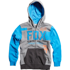 Fox Boys Blockade Zip Front Hoody