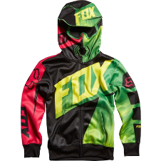 Fox Boys Vandal Full Zip Front Hoody