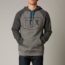 Fox Damask Pullover Hoody
