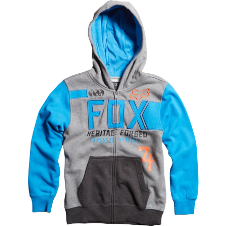 Fox Kids Blockade Zip Front Hoody