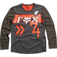 Fox Boys Crowd Please L/S Tee