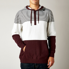 TUCKER PULLOVER FLEECE [HTR WHT]