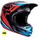 Fox V4 Race HelmetBlack/Grey