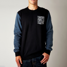 STOPPER CREW FLEECE [HTR WHT]