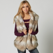 Fox Reflect Sasquatch Fur Vest
