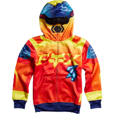 Fox Boys Imperial Zip Front Hoody