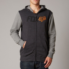 Fox Warmup Zip Front Hoody