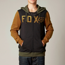 Fox Wingd Zip Front Hoody