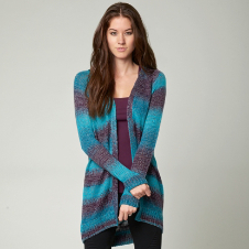 Fox Avalanche Cardigan Sweater