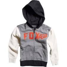 Fox Kids Wingd Zip Front Hoody