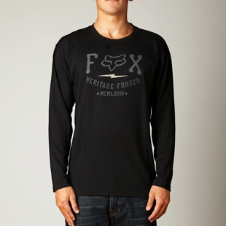 Fox Muster L/S Tee
