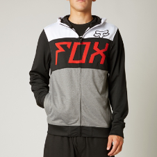 Fox Trial Zip Front Hoody