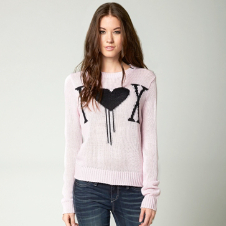 Fox Cold Hearts Sweater