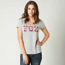 Fox Free Fallin Scoop Tee