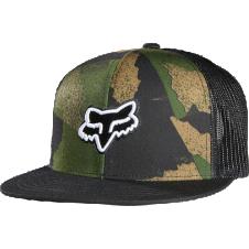 Fox Carnage Camo Snapback Hat