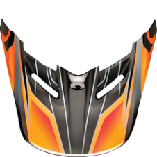 Fox MX15 V4 Race Helmet Visor