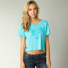 Fox Expedite High Low Crop Tee