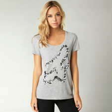 Fox Thrashed Scoop Tee
