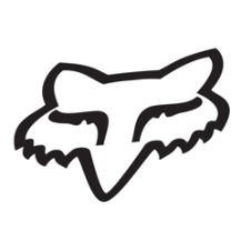Fox Head Sticker 1.75 Inch