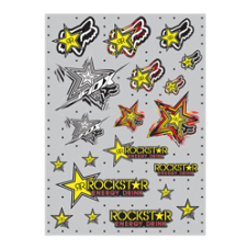 Fox Rockstar Sticker Sheet